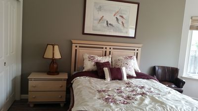 Photo for Beautiful rooms with garden view in an organic house in Cupertino
