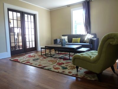 Photo for 2 BR/1 BA 2 blocks from Fluor Field