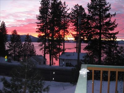 Photo for Awesome Lake Views  with Hot Tub overlooking lake