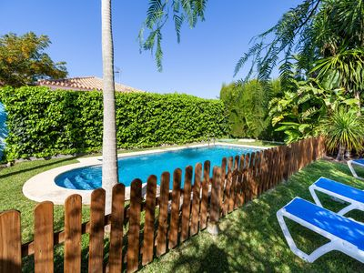 Photo for With beautiful garden and large pool - Casa La Buganvilla