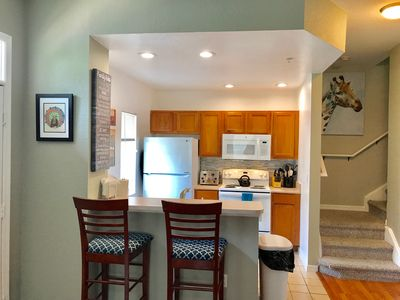 Kitchen with all the necessary appliances
