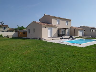 Photo for New house with pool near the alpilles
