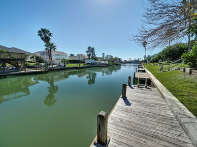 Photo for This beautiful 3 bedroom Waterfront is ideal for a family getaway to the Gulf