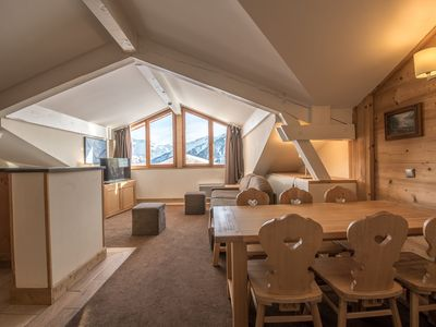 Photo for 63sqm apartment in the Forum, Courchevel 1850