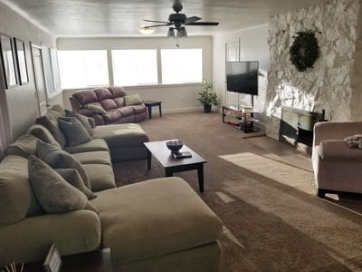 Photo for Newly remodeled, clean, comfortable, and centrally located