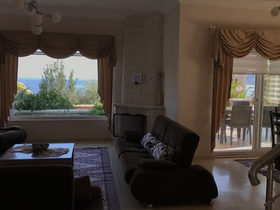 Photo for Beautiful villa with direct sea view in Kalamar bay