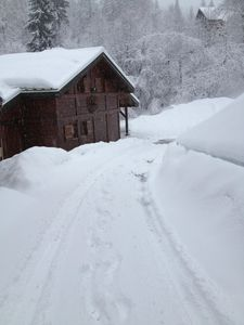 Photo for Pretty mountain chalet with parking and wifi