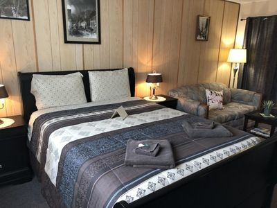 Photo for Bear Valley King Suite - B&B House Austria  Queen  Bed  Room with Shared Bathroom