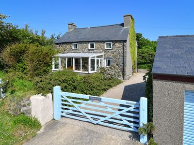 Photo for Ysgubor Bach is a superb detached stone cottage located close to the tip of the Lleyn Peninsula with