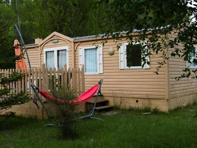 Photo for Camping Les Rives du Lac *** - Mobile home 3 Rooms 4 Persons