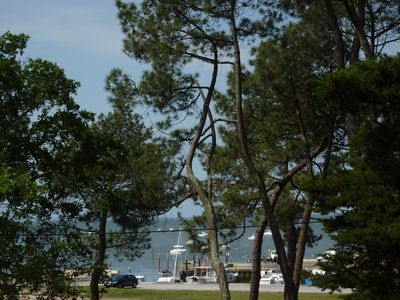 Photo for 2 bedroom apartment Bay of Arcachon seafront, Betey beach