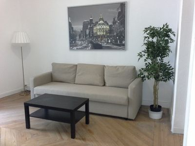 Photo for 2-6 Spacious and newly renovated apartment in the heart of Madrid. WIFI. A / A. C