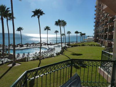 Photo for Beautiful Beachfront Condo Overlooking the Crystal Blue Waters of Sea of Cortez