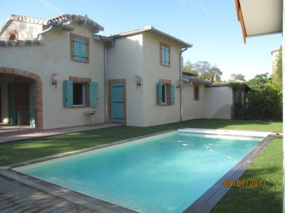 Photo for LANGUEDOCIAN HOUSE RESTORED, AIR-CONDITIONED / HEATED PRIVATE POOL