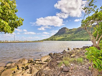 Photo for NEW! Nautical Lihue Studio w/Balcony & River Views