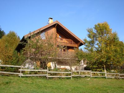 Photo for Comfortable chalet for 8-10 people with a 4-seater sauna