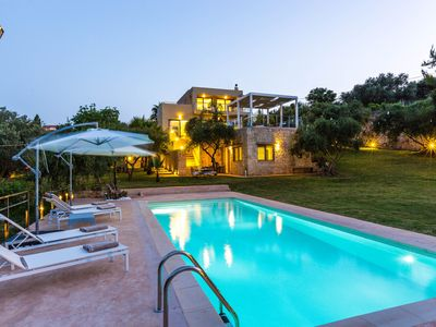 Photo for Villa Lefteris, surrounded by nature, sea view, luxury