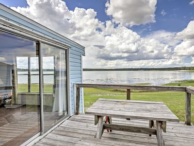 Photo for Lakefront Silver Springs Cabin w/Deck & Grill!