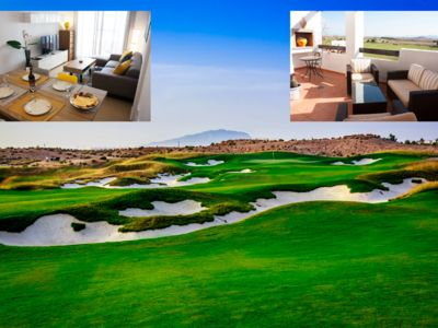 Photo for Luxury penthouse in Condado de Alhama located directly at the beginning of the golf course