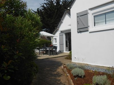 Photo for House with garden near the beach of Caroual and the center.