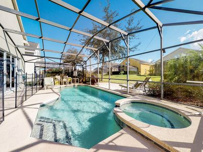Photo for Spacious family-friendly home w/ private pool & entertainment - close to Disney!