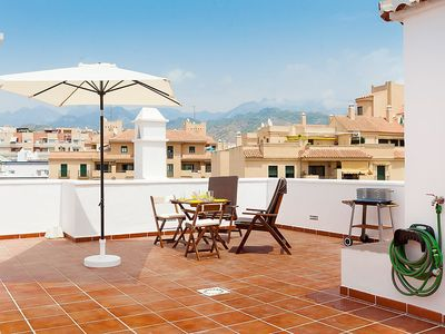 """Photo for Apartment a short walk away (159 m) from the """"Playa La Torrecilla"""" in Nerja with Internet, Washing machine, Air conditioning, Terrace (507068)"""