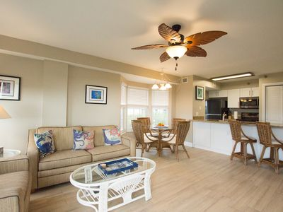 Photo for BEAUTIFULLY REMODELED SPACIOUS END UNIT WITH OPEN OCEAN VIEWS + POOL & BEACH