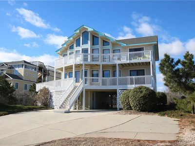 Photo for #424: Partial OCEANVIEW Home in Corolla w/PrivatePool & HotTub