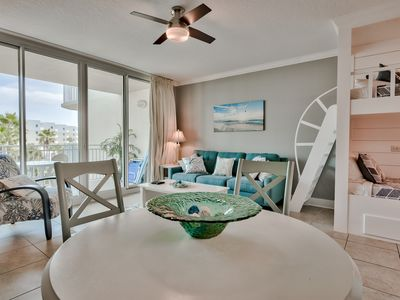 Photo for Waterscape 4th Flr  B area with Courtyard views - on the beach - New!