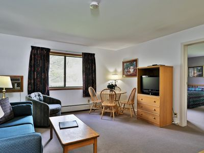 Photo for Deluxe one bedroom suite located on first floor w/ outdoor heated pool