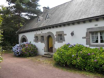 Photo for Beautiful House in Brittany with large garden (1 ha) with trees and lawns