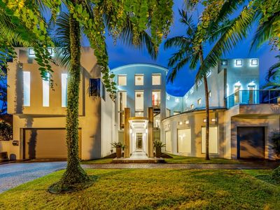 Photo for Amazing Las Olas Isles Home on the Intracoastal Waterway w/ Dock & Private Pool