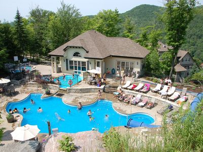 Photo for Mountain View Condo in Mont-Tremblant