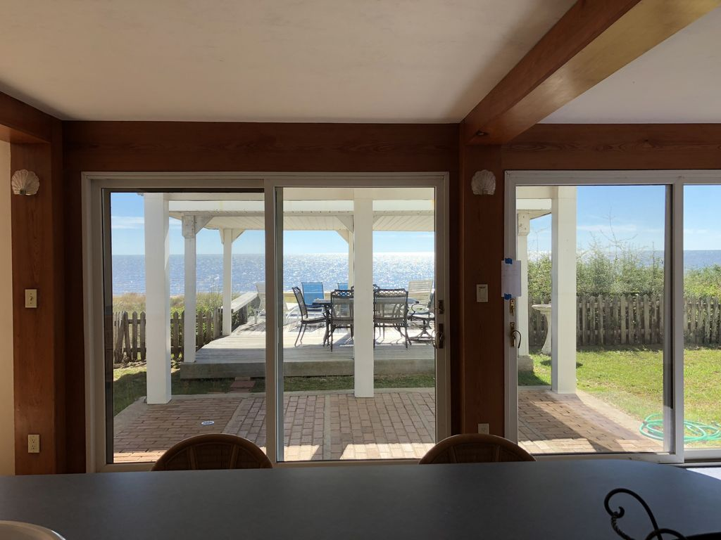 Perfect Alligator Point House Rental   View From Kitchen   Watch The Dolphins Swim  As You Fix Design Ideas