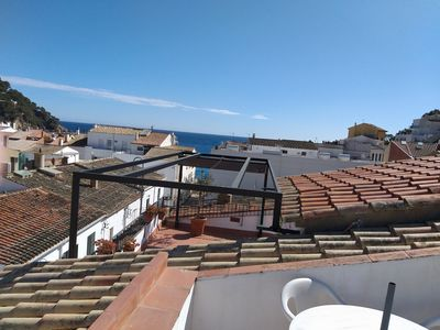 Photo for Duplex with terrace and sights, 50 meters from Llafranch beach
