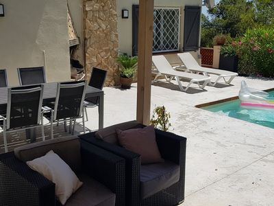 Photo for Chic Villa in Sant Feliu de Guíxols Spain with Swimming Pool