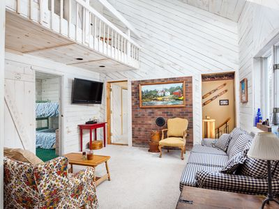 Photo for NEW TO VRBO - The Blue Home, Just 2 Miles From Mount Snow!