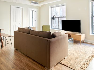 Photo for Sonder | Financial District | Sunny 2BR + Sofa Bed