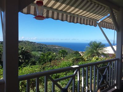 Photo for Pretty villa creole, beautiful view on the Caribbean Sea and the mountain