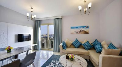 Photo for This 1 bedroom apartment offers a beautiful view of the garden