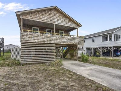 Photo for Oceanside in Kitty Hawk. Adorable, redecorated beach house with Ocean views!