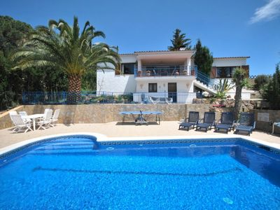 Photo for Club Villamar - Spacious villa with wifi, nice garden with private swimming pool and ping pong ta...