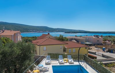 Photo for Villa Ira with Sea View on the Island Krk