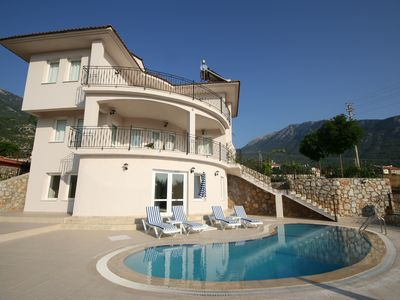Photo for Spacious Private Villa with Pool and Large Private Garden with Mountain Views