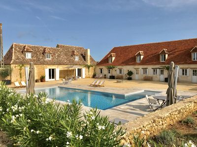 Photo for Superb detached Villa with private pool, free WiFi & beautiful views
