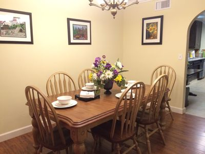 Photo for Cozy House, 1 Mile To Disneyland, Accommodate 3 Families Or 11 Guests