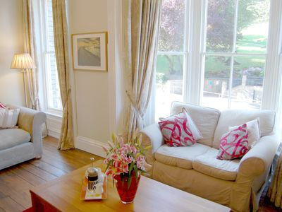 Photo for Victorian town house overlooking Pannett park a 2 min walk from town centre