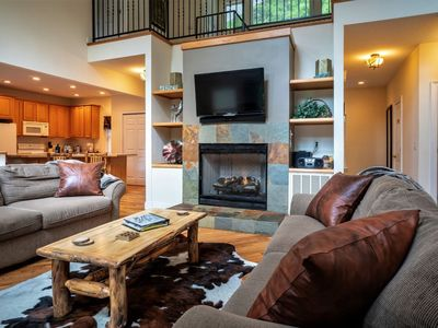 Photo for MOUNTAINHAUS at Innsbruck - This exceptional newly updated 5 Bedroom 4 bath mountain retreat is loca