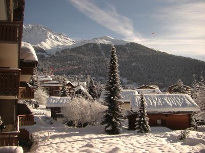 Photo for Verbier central, Wi-Fi, by Sport center for Pool, Jacuzzi, Sauna - no car needed