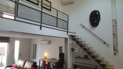 Photo for Beautiful loft New atypical and functional, near train station & city center